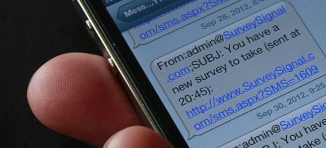 Los participantes recibían en su móvil cinco mensajes al día para...