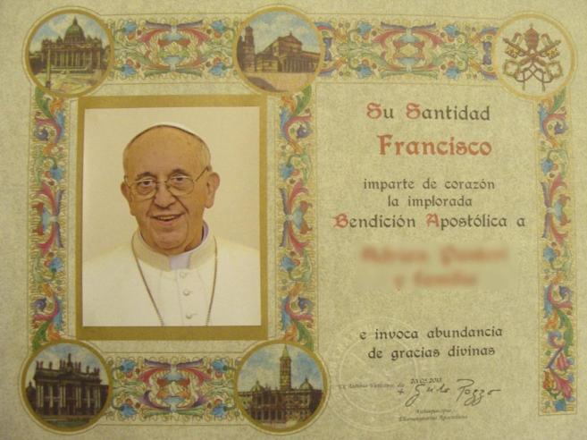 Bendición papal