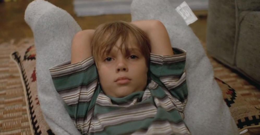 Mason, Ellar Coltrane, en una escena de 'Boyhood'