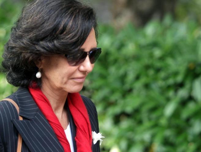 Ana Patricia Botín, hija de Emilio Botín, fallecido el martes en...