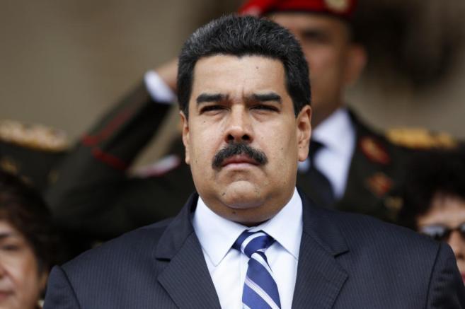Nicolás Maduro durante la ceremonia del nuevo Secretario General de...