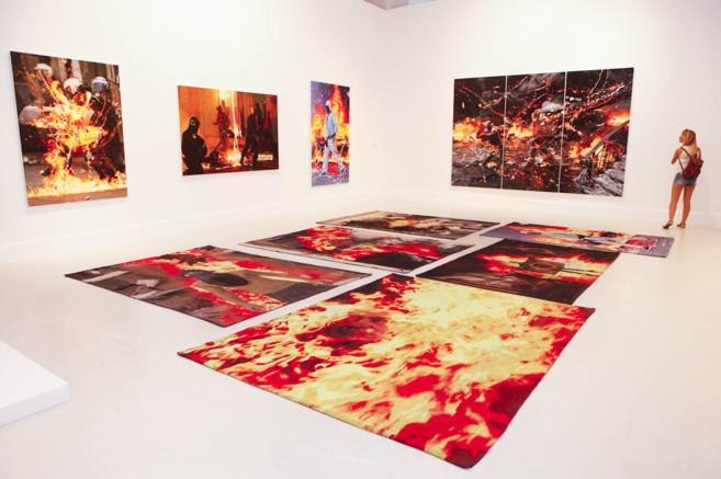 Exposición de Marc Quinn en el CAC.