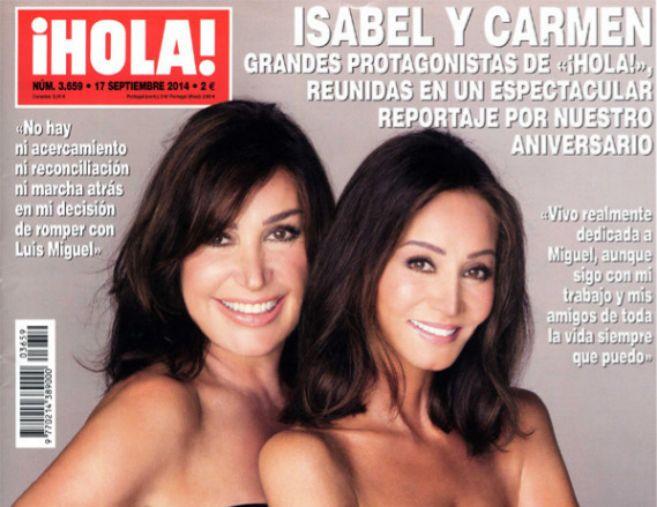 Imagen de la portada de la revista 'Hola'.