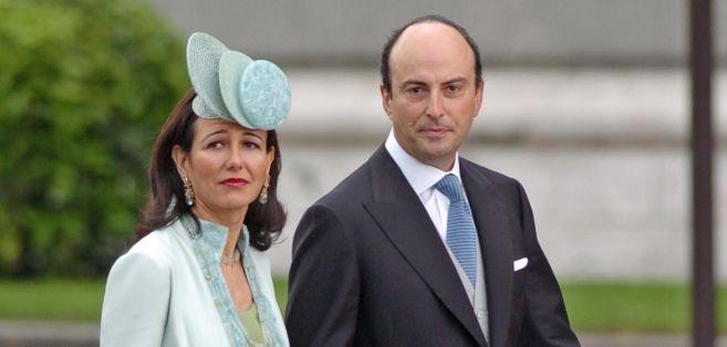 Guillermo Morenés, junto a Ana Patricia Botín.