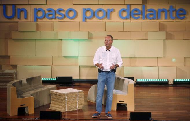 Alberto Fabra en la clausura este sábado del foro de NNGG en...