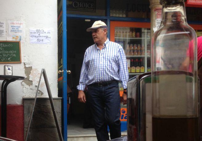 El exconsejero de la Junta Ángel Ojeda, en una imagen reciente tomada...