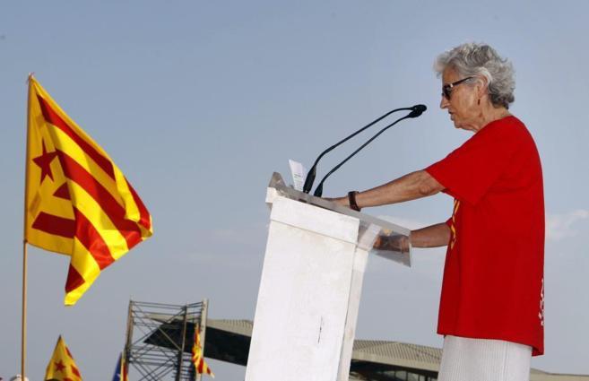 Muriel Casals, al acabar la Vía Catalana