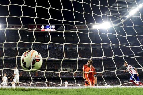 Iker Casillas, en el primer gol en contra.