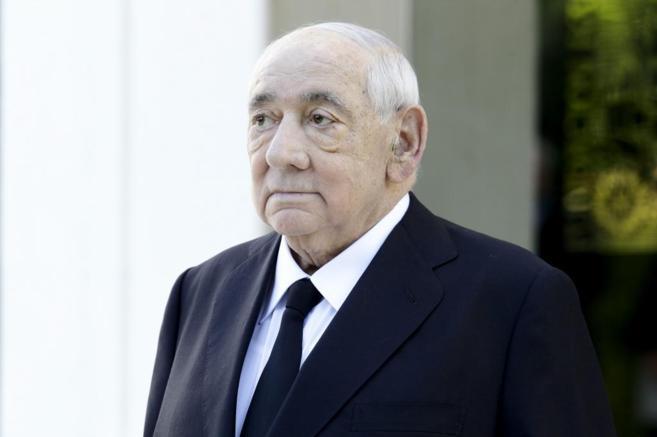 Isidoro Álvarez, este agosto, antes de la Junta General de...