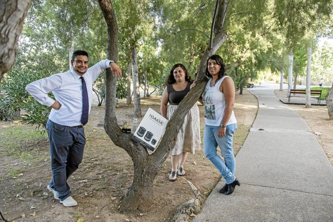 Alejandro Sandigo, María Rodríguez y Paula Roig, creadores de la...