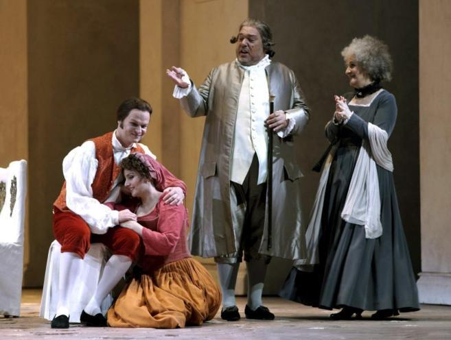 'Las bodas de Fígaro' en el Teatro Real.