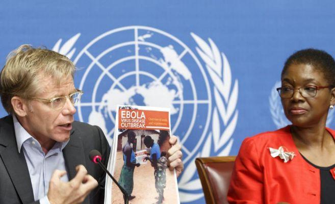 Rueda de prensa conjunta de la OMS y la ONU para alertar del...