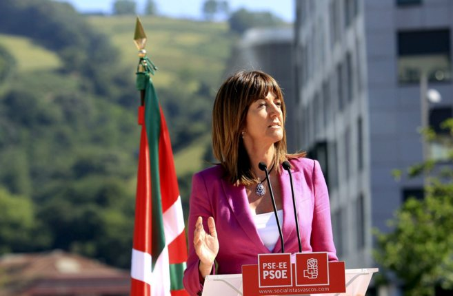 La nueva secretaria general del PSE, Idoia Mendia.