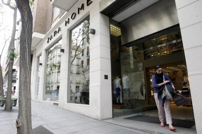 Tienda de Zara Home, una de las cadenas del grupo Inditex, en Madrid.
