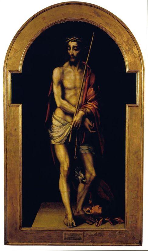 El 'Ecce Homo (Cristo de la caña verde)' de Luis de...