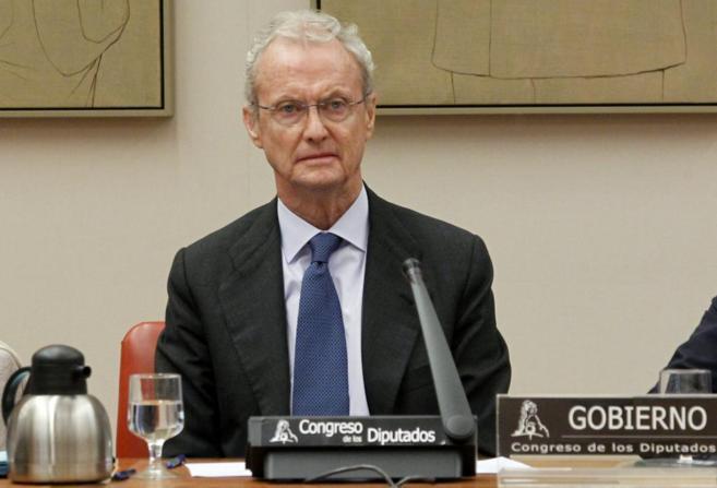 Pedro Morenés, en la Comisión de Defensa del Congreso.