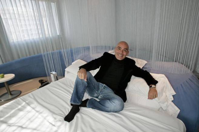 El fundador de Room Mate, Kike Sarasola.