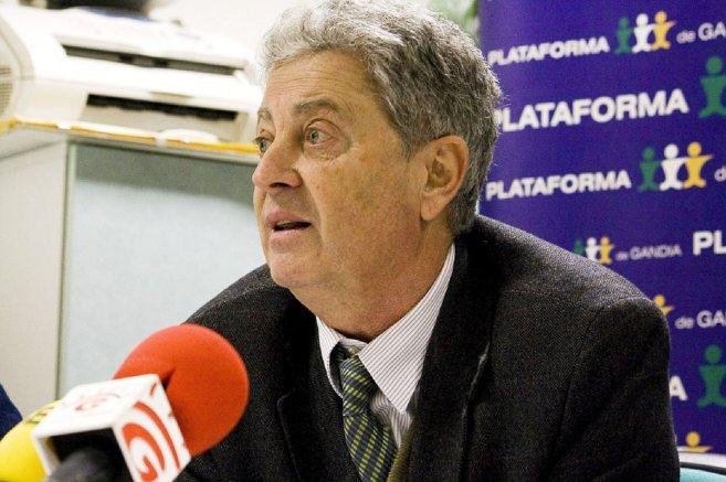 El ya ex coordinador de Ciudadanos de Valencia, Fernando Mut.