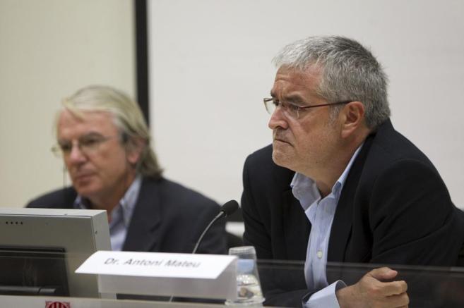 El responsable de Salud Pública, Antoni Mateu.