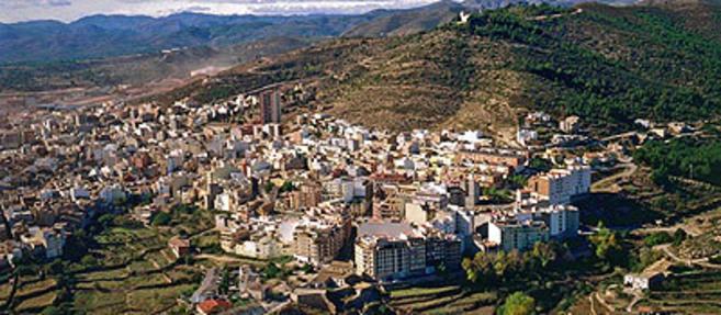 Vista general del municipio de l'Alcora.