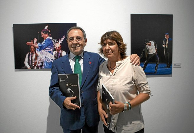 El crítico Manuel Martín Martín y la fotógrafa Remedios Malvárez.