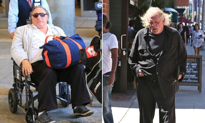 Gérard Depardieu y Nick Nolte es sus últimas y preocupantes...