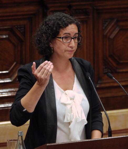 La portavoz parlamentaria de ERC, Marta Rovira.