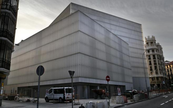 Obras de construcción del mercado de Barceló.
