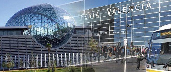 Fachada principal de Feria Valencia.