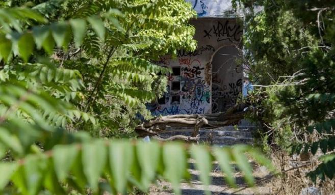 Las ruinas, en Getafe, en las que tuvo lugar la 'rave' en la...
