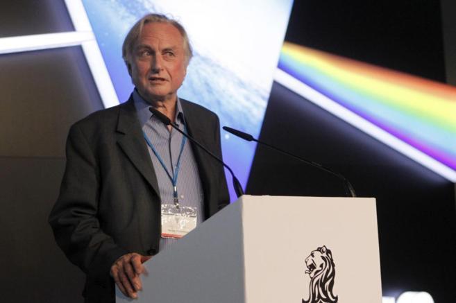 El biólogo darwinista de Oxford, Richard Dawkins, durante su...