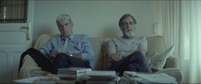 Oscar Ladoire y Ramón Barea en un momento de 'El...