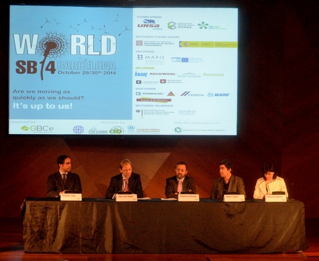 Acto de presentación del 'World SB 2014 Barcelona' en...