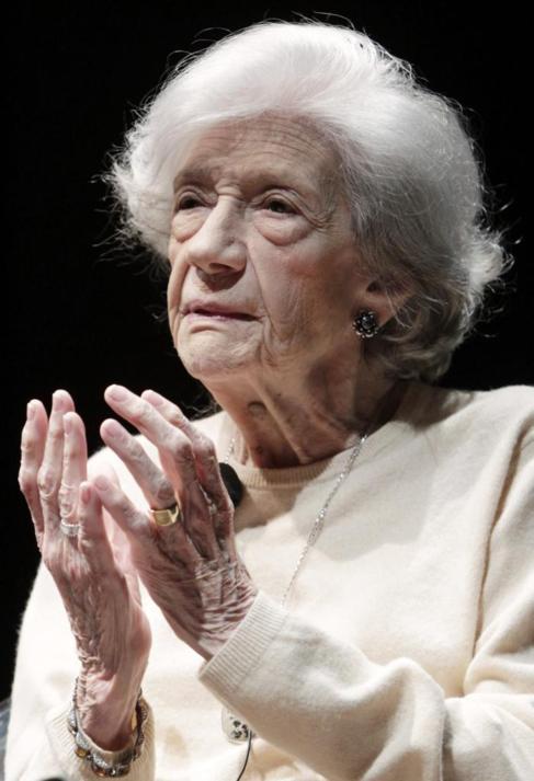 La escritora Ana María Matute, en 2011.