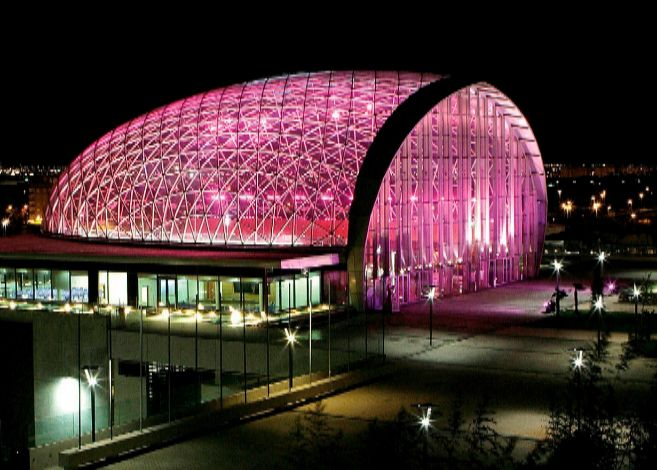 El Centro de Eventos, levantado en la ampliación de la Feria.
