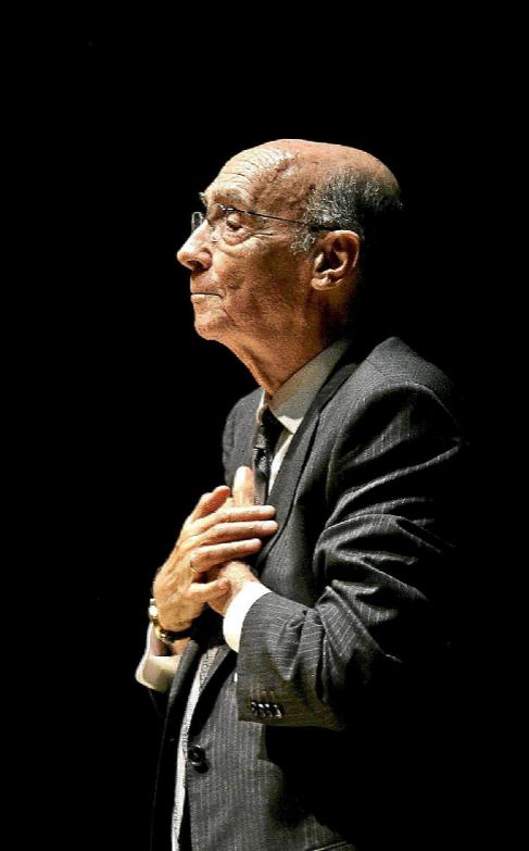 El escritor José Saramago