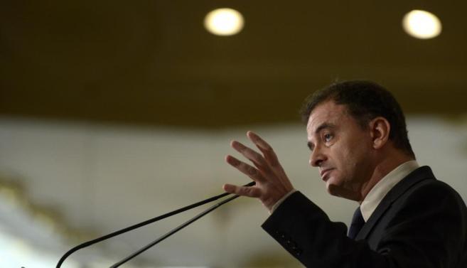 Alfred Bosch, diputado y portavoz de ERC en el Congreso, durante un...