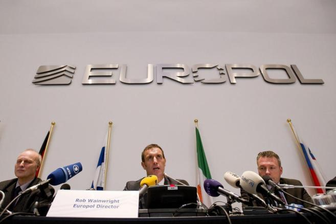 El director de Europol, Rob Wainwright, durante una rueda de prensa.