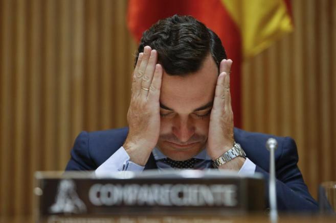 El presidente del Consejo de Administración de RTVE, Leopoldo...