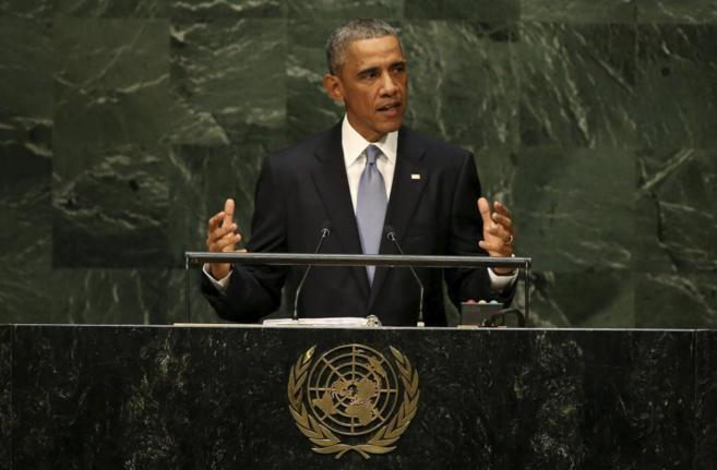 El presidente de EEUU, Barack Obama, interviene en la Asamblea General...