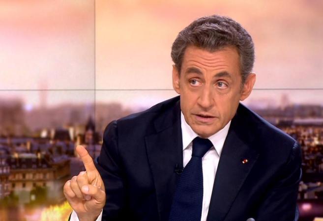 Entrevista a Nicolas Sarkozy en France 2 el pasado domingo.
