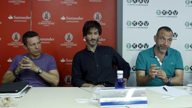Javier Espinosa, Ricardo García Vilanova y Marc Marginedas.