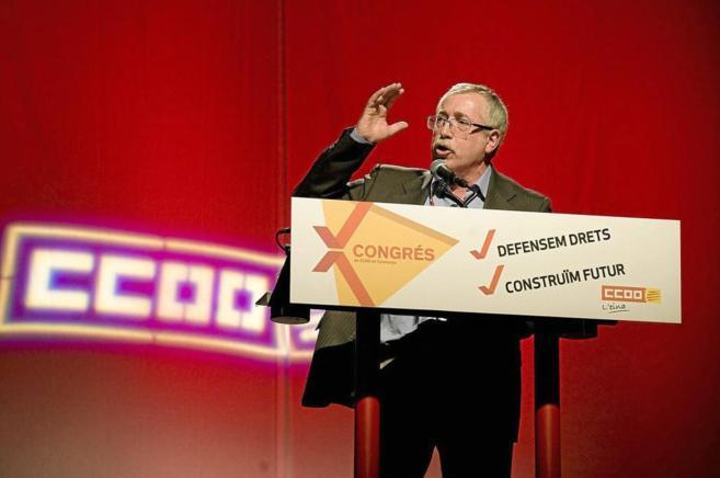 Ignacio Fernández Toxo, líder de la Confederación Nacional de CCOO.