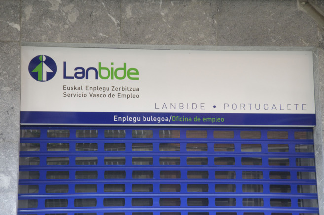 Una oficina de Lanbide del País Vasco.