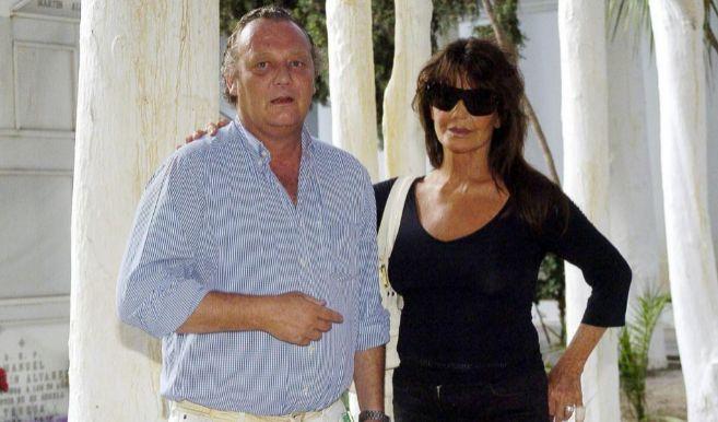 Marco Hohenlohe, en una imagen de archivo, junto a Lita Trujillo. EL...