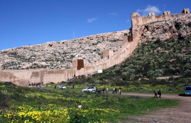 El paraje de La Hoya, junto a la Alcazaba de Almería, será uno de...