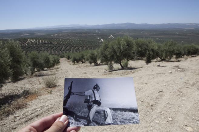 El paraje donde se realizó la fotografía de Robert Capa 'Muerte...