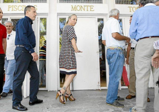 La alcaldesa, Sonia Castedo, en un acto reciente.