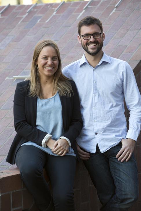 María Alegre y Pepe Agell.