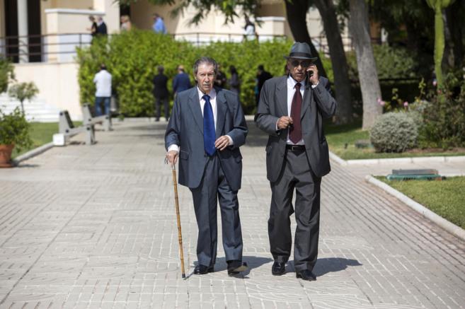 Manuel Alcántara y López Cohard, amigos de Aparicio.